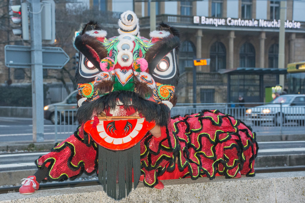 dragon nouvel an chinois 2019
